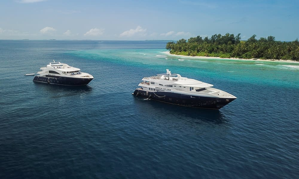Maldives: Luxury liveaboard for less!